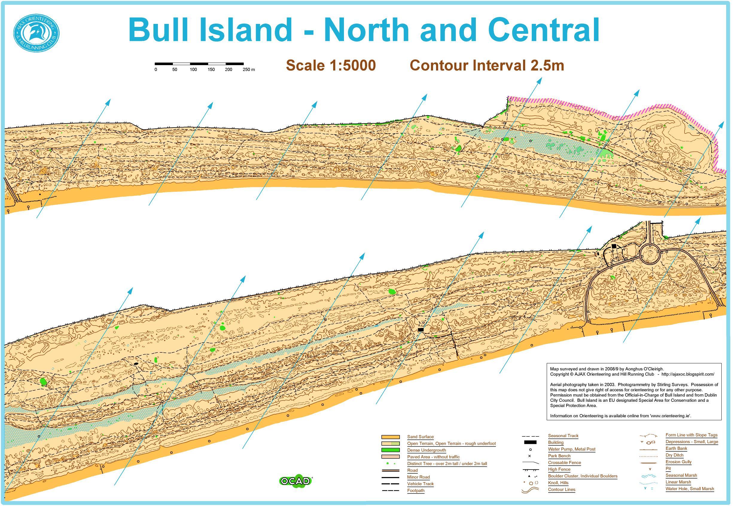 Bull Island orienteering